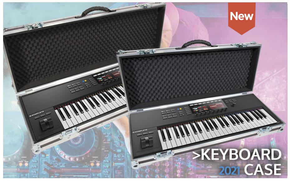 Keyboard case. Native Instruments. Roland. Yamaha. Korg. Mellotrom. Prophets