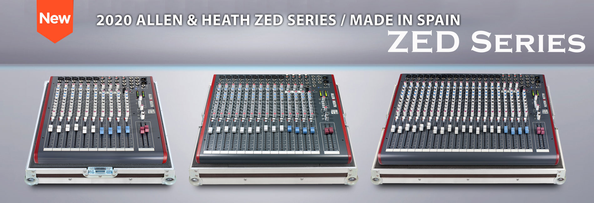 Allen&heath ZED SERIES