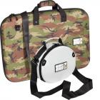 Set  Shockproof Eva Case 1 x W-MCB640-CAMO for DDJ-SR2 / KONTROL S4MK3 and 1 x W-HEADPHONES-WHITE