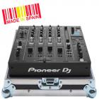 Professional Flight Case Mixer  Pioneer® DJM-V10 Silver