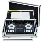 Flight Case Midi Controller Pioneer® DDJ-SR2 Silver (Laptop Stand, Trolley & Wheels).