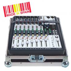 Professional Flight Case Mixer Soundcraft® SIGNATURE10, Silver