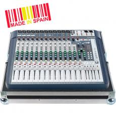 Professional Flight Case Mixer Soundcraft® SIGNATURE16, Silver