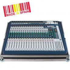 Professional Flight Case Mixer Soundcraft® SIGNATURE22 Silver