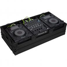 Flight Case Pioneer® CDJ-2000NXS2/ DJM-900NXS2 Black (Wheels).