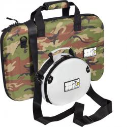 Set  Shockproof Eva Case 1 x W-MCB560-CAMO for DDJ-400/S2MK3 + 1 x W-HEADPHONES-WHITE