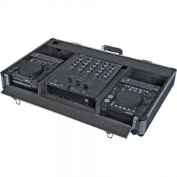 Flight case for CD Player 10? and mixer dj 12?
