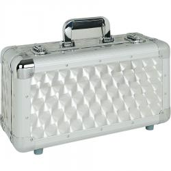 DJ Case 100 CD Silver.