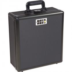 Flight case for universal mixer medium size, black.