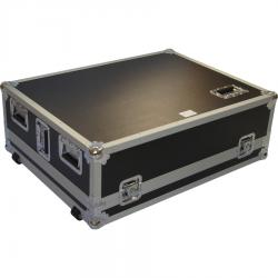 Flight case for live sound mixer Behringer® X32. Wheels.