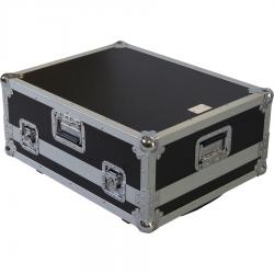 Flight Case Allen&Heath® QU16/SQ5/ Behringer® X32PRODUCER Silver (Trolley & Wheels).