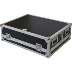 Flight Case Allen&Heath® QU-24/QU-32/SQ6 Silver (Wheels).