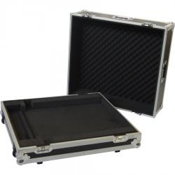 Flight Case Behringer® X32COMPACT/ Yamaha® TF1 Silver (Trolley & Wheels).