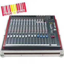 Professional Flight Case Mixer Allen&Heath@ ZED18, Silver