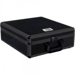 Flight case for universal mixer small size, black.