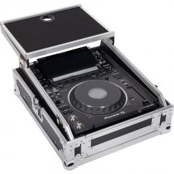 "Flight Case Multi formato CDJ/MIXER 12"" PLUS Silver (Laptop Stand)."