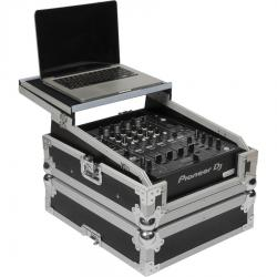 Flight Case Pioneer® DJM-900NXS2/CDJ-2000NXS2 Silver (Laptop Stand).