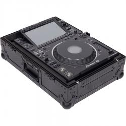 "Flight Case Multi format CDJ/MIXER 12"" PLUS Black."