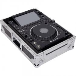 "Flight Case Multi formato CDJ/MIXER 12"" PLUS Silver."