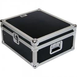 "Flight Case Rackmount DJ 19"" /10U Silver."