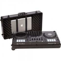 Flight Case multi format Pioneer® DDJ-1000/ DDJ-FLX6  Black (Trolley & Wheels).