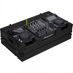 Flight Case Pioneer® XDJ-700 or CDJ-350/ DJM-750MK2 Black (Wheels).