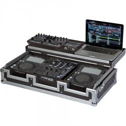 Flight case for CD Player 10'' and Mixer DJ 10''