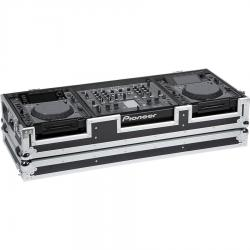 Flight case para reproductor CD 12'' y mezcladora dj 18''
