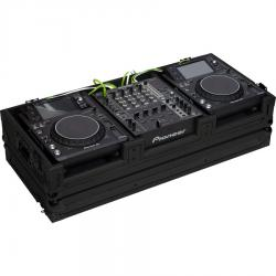 Pioneer® XDJ-1000/DJM750MK2 or Denondj SC6000M/X1850 Black (Wheels).