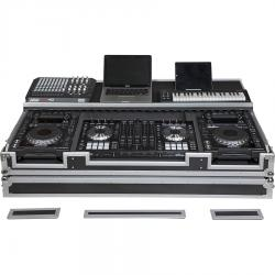 Flight case para controlador midi y reproductor CD 12''