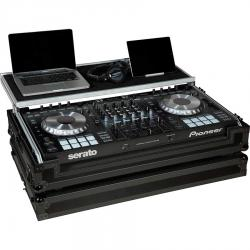 Flight Case Midi Controller Pioneer® DDJ-SZ2/RZ Black (Laptop Stand, Trolley & Wheels).