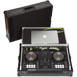 Flight Case Midi Controller Native Instruments® KONTROL S2MK3 Black (Laptop Stand).