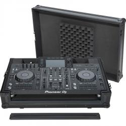 Flight case All-in-one DJ System Pioneer® XDJ-RX2 Black (Trolley & Wheels).