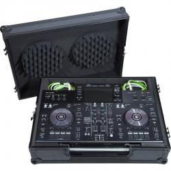 Flight case Midi controller Pioneer® XDJ-RR Black (Trolley + Wheels).