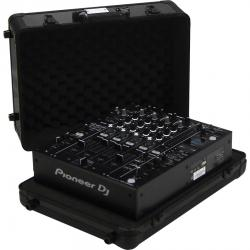 "Flight Case Multi Format Pioneer® DJM-900NXS""/CDJ-2000NXS2 Black (Trolley & Wheels)."