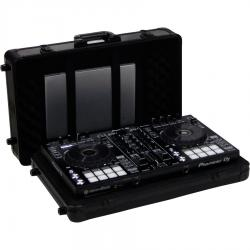 Flight Case Multi Format Pioneer® DDJ-SR2  Black (Trolley & Wheels).