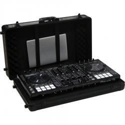 Flight case universal XL wood and aluminum for controller up to 690mm wide