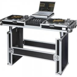Flight Case Turntable (Normal)/ Pioneer® DJM-900NXS2 Silver (Table & Wheels).