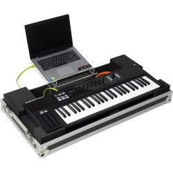 Flight case Midi Keyboard 49 Keys (Laptop Stand & Wheels).