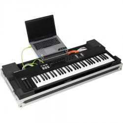Flight case Midi Keyboard 61 Keys (Laptop Stand & Wheels).