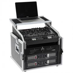 Rack 19 inches 8U vertical and 10U slant (Laptop Stand).