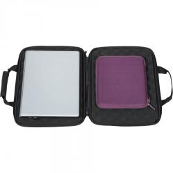 Shockproof Eva Case Laptop Black MAC & PC.