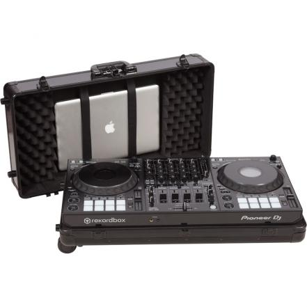 Flight Case multi format Pioneer® DDJ-1000 Black (Trolley & Wheels).