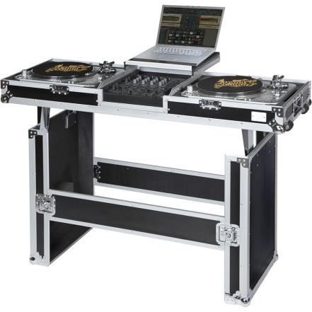 Flight case y mesa dj wmdj 12tablelts para tocadiscos y mezcladora dj 12 39 39 - Mesa dj pioneer ...