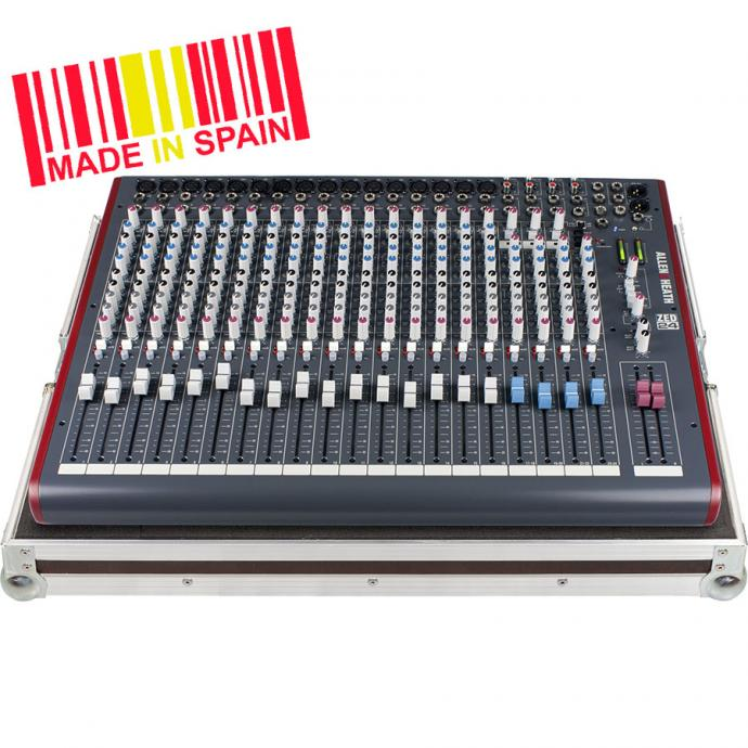 Professional Flight Case Mixer Allen&Heath@ ZED24, Silver