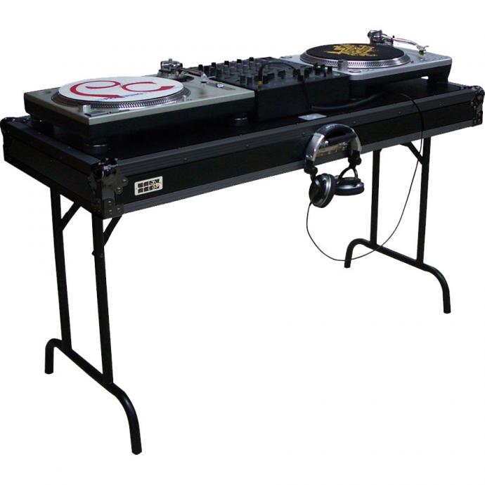 "Universal DJ table 50"" (1290mm), foldable."